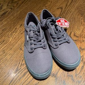 New Vans Classic Canvas Lace-up Casual Sneakers